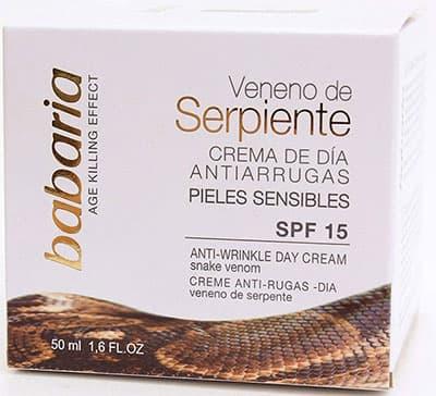 Crema veneno de serpiente babaria