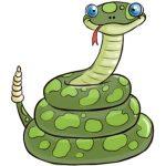 Dibujos de serpientes